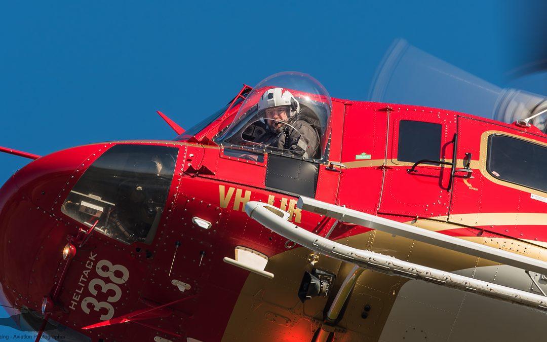 Pilot refresher training for the fire season