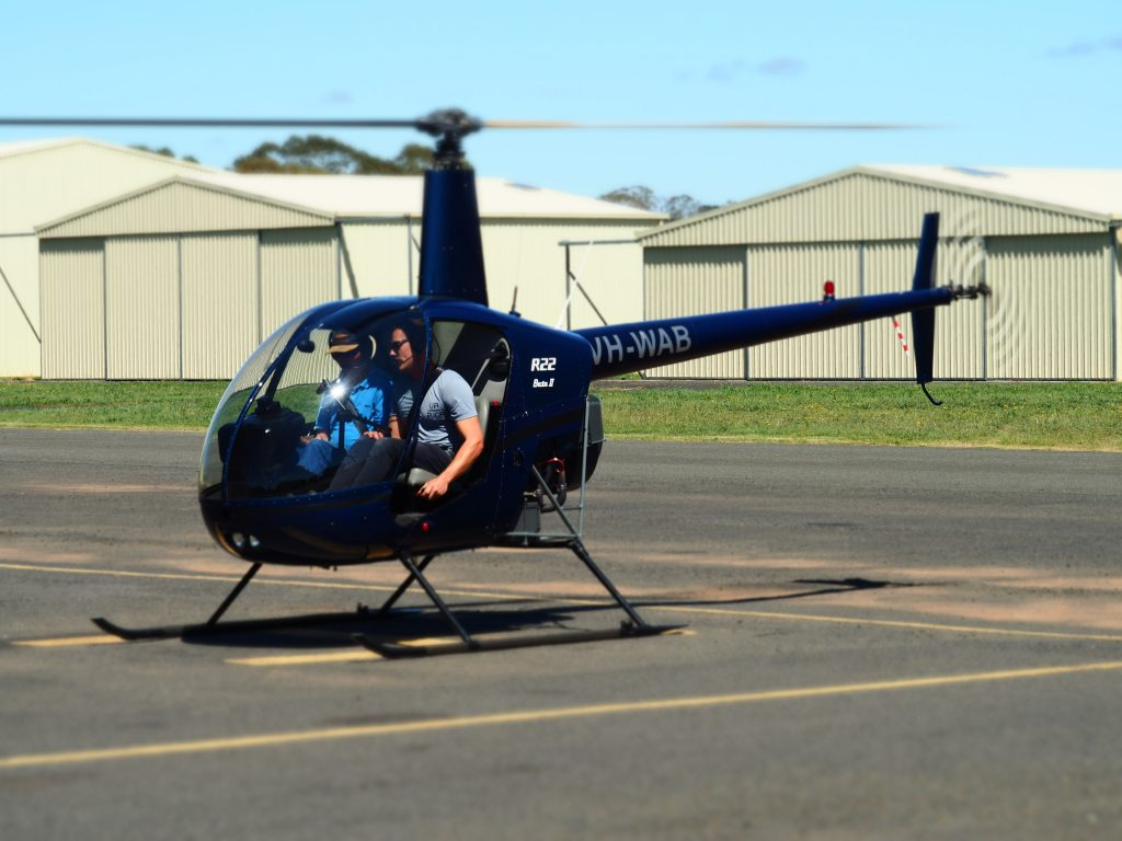Central west helicopter school